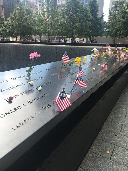 NYC Trip 9/11/2016