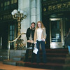 Casey and Amber on the steps of the Plaza Hotel where we had brunch.