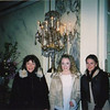 Mom, Casey & Amber in the lobby of the Plaza Hotel.