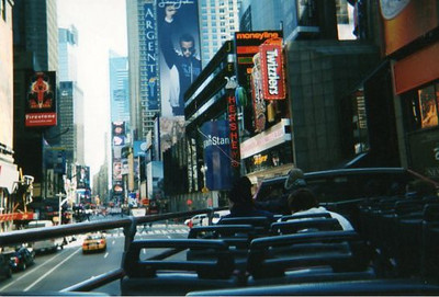 Approaching Times Square?
