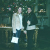 Casey & Amber in the lobby of the Plaza Hotel.