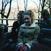 Amber & Casey later in the day just before exiting the bus to return our hotel. Central Park is in the background.
