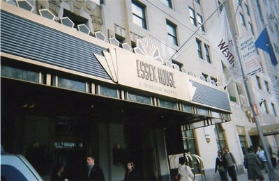 Our hotel, on Central Park South.