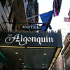 Casey chose the Algonquin Hotel because of its history of being frequented by writers. We slept with the windows open since Casey wanted to hear the sounds of the city. She leaned out the window several different times that weekend enjoying the view towards Broadway.