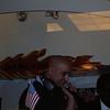 D.J. Blaze(?) performing in Macy's.