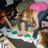 Twister My Room Freshmen Yr. - Christina, Cassie, Casey, and I playing Twister in my apartment one day freshmen year.