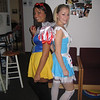 10-08' Halloween. Casey - Alice In Wonderland, with Kelsey - Snow White.