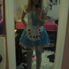 Alice In Wonderland, Halloween at  Fordham 10-08'.