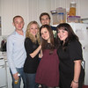 """Caption from Casey's Facebook: """"san fran crew!""""<br /> <br /> In this photo: Craig Calefate, Casey, Robert Hendry Beatson III, Gabrielle Linzer,  and Ashley Jeanne WennersHerron at Kate's apartment"""