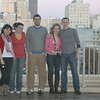 Hotel balcony group shot