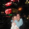 A hug from Rachael in Times Square.