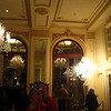 We walked into the lobby of the former Waldorf Hotel where Casey immediately saw a photo opportunity.