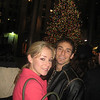 Casey had to show Cousin Curt the Christmas tree at Rockefeller Center.