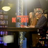 "On the air with Amy Goodman and Juan Gonzalez, ""Democracy Now"""