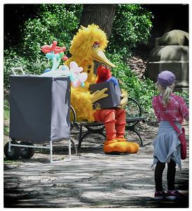 Big Bird and a girl.jpg