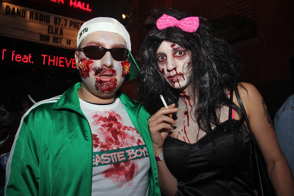 NYC Zombie Crawl: Union Square, 10-14-12