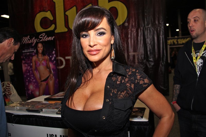 Lisa Ann for CLUB Spotlight, Exxxotica 2012