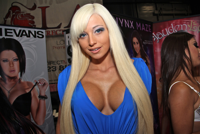 Rikki Six of LA Direct Models, Exxxotica 2012