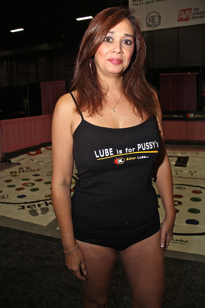 Alesia Pleasure for Biker Lube, Exxxotica 2012