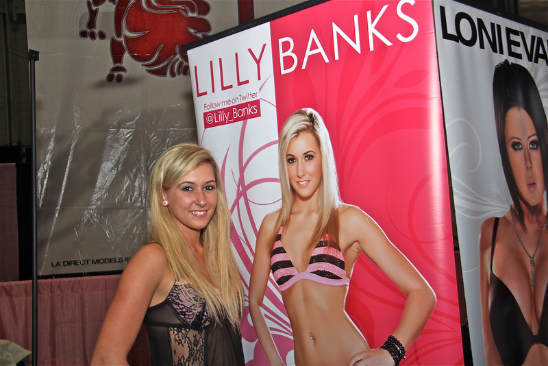 Lilly Banks of LA Direct Models, Exxxotica 2012