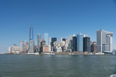 Manhattan from the Ferry