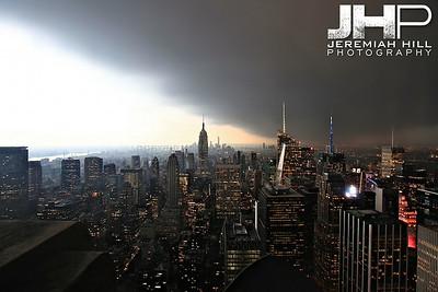 """NYC Storm #2"", NYC, 2013 Print NYC2-0561"