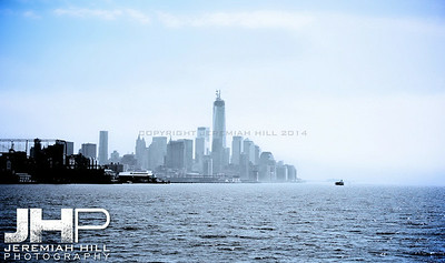 """NYC Skyline from Water #1"", NYC, 2013 Print NYC1-0799"