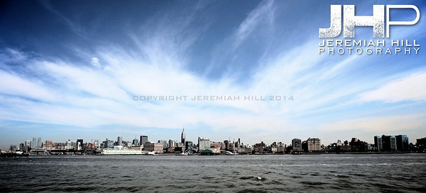 """NYC Skyline from Water #3"", NYC, 2013 Print NYC1-0088"