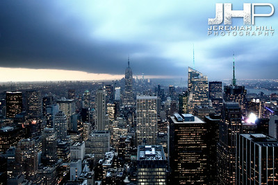 """NYC Storm #8"", NYC, 2013 Print NYC2-0605"