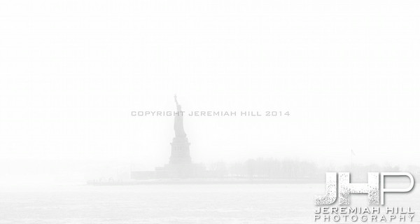 """Liberty In The Mist"", NYC, 2013 Print NYC1-0139"