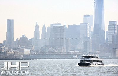 """NYC Skyline from Water #2"", NYC, 2013 Print NYC1-0071"