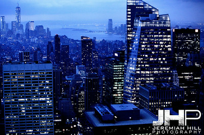 """NYC Southward Skyline #5"", NYC, 2013 Print NYC2-0647"