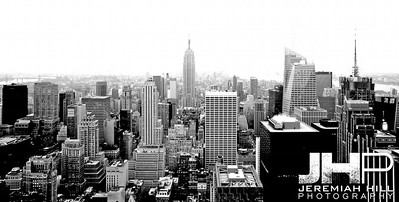 """NYC Southward Skyline #1"", NYC, 2013 Print NYC2-0324"