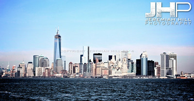 """NYC Skyline from Water #5"", NYC, 2013 Print NYC1-0458"