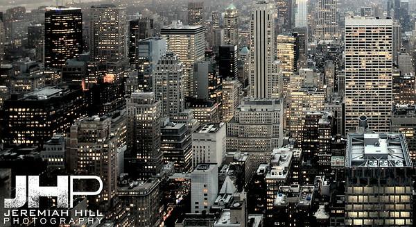 """Into NYC #4"", NYC, 2013 Print NYC2-0602V2"