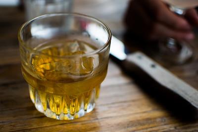 Scotch on the rocks at Joe's