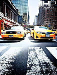 """Two Taxis"", NYC, 2013 Print NYC1-0770V2"