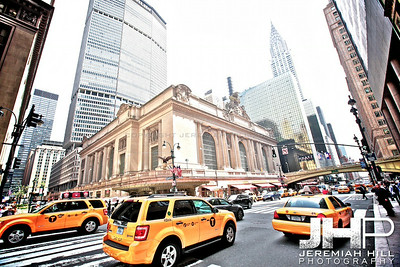 """Outside Grand Central #1"", NYC, 2013 Print NYC1-0753"