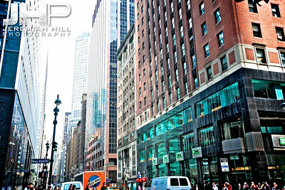 """East 42nd & Madison #2"", NYC, 2013 Print NYC1-0742"