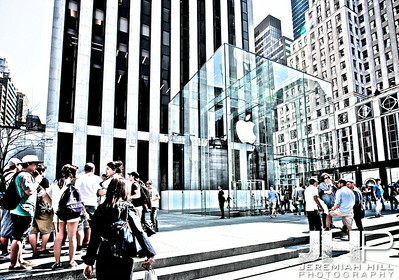 """Apple Store 5th Avenue #7"", NYC, 2013 Print NYC2-0048"