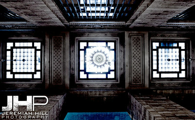 """Interior Hallway Mandala #1"", Grand Central Terminal, NYC, 2013 Print NYC1-0803"