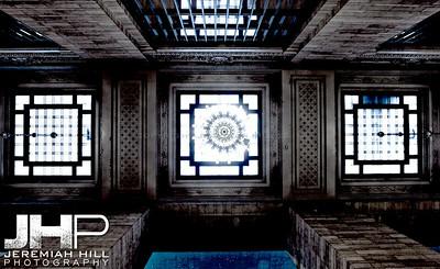 """Interior Hallway Mandala #1"", Grand Central Terminal, NYC, 2013 Print NYC1-0803"
