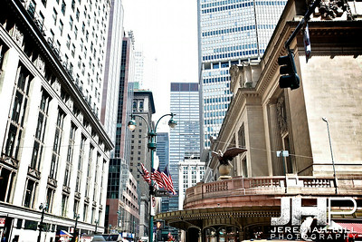 """""""Outside Grand Central #2"""", NYC, 2013 Print NYC1-0760"""