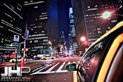 """Taxi Ride #2"", NYC, 2013 Print NYC2-0761V2"