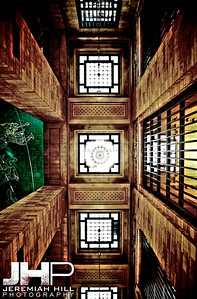 """Interior Hallway Mandala #2"", Grand Central Terminal, NYC, 2013 Print NYC1-0796"