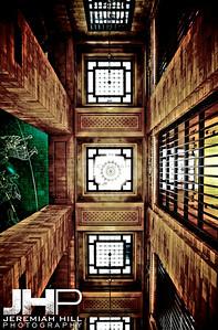 """Interior Hallway Mandala #2"", Grand Central Terminal, NYC, 2013 Print NYC1-0796"