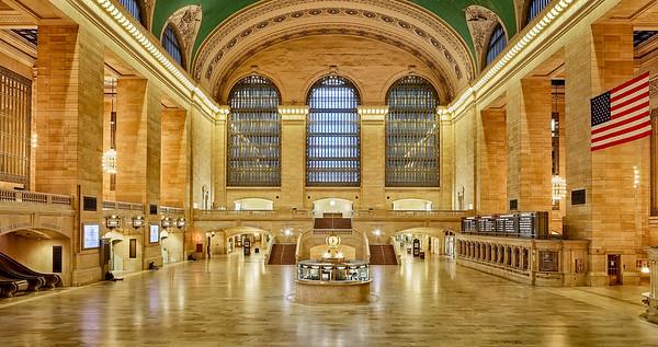 Grand Central Terminal Sleeping