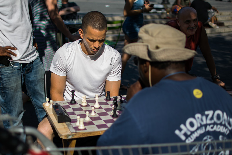 Chess in Union Square Park
