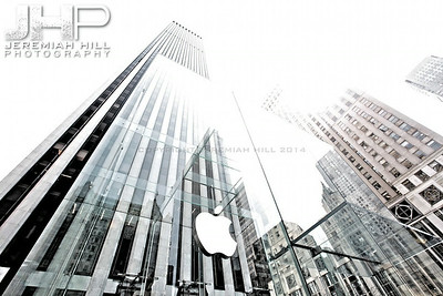 """Apple Store 5th Avenue #2"", NYC, 2013 Print NYC2-0061"