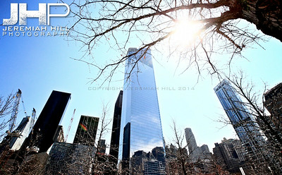 """WTC1 #3"", NYC, 2013 Print NYC1-0050"